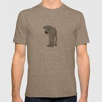Barney Mens Fitted Tee Tri-Coffee SMALL