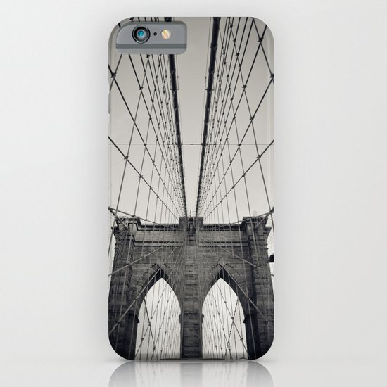 Brooklyn Bridge B/W | New York City iPhone & iPod Case