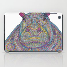 Hippie-Potamus (Multicolour) iPad Case