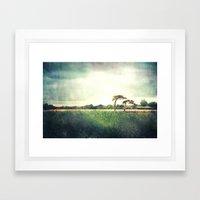 Fishbourne Two Framed Art Print