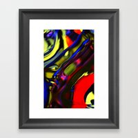 Incarnation Of Madness Framed Art Print