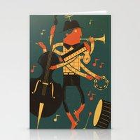 Music Man Stationery Cards
