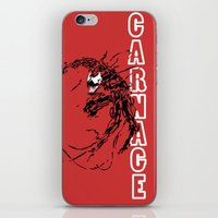 Carnage iPhone & iPod Skin