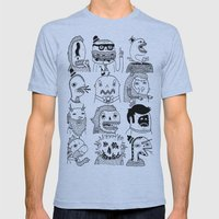Monster Meet Up Mens Fitted Tee Athletic Blue SMALL