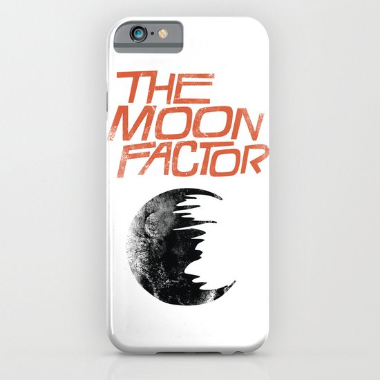 The Moon Factor iPhone & iPod Case