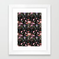 Wilderness Pattern Framed Art Print