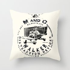 M and C incorporated Throw Pillow