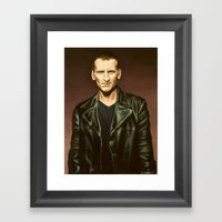 The Ninth Doctor Framed Art Print