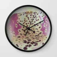 Foxglove 2 Wall Clock