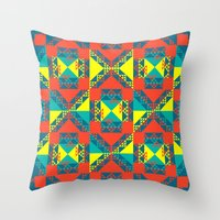 xoxox Throw Pillow