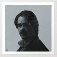 True Detective Ray Velco… Art Print