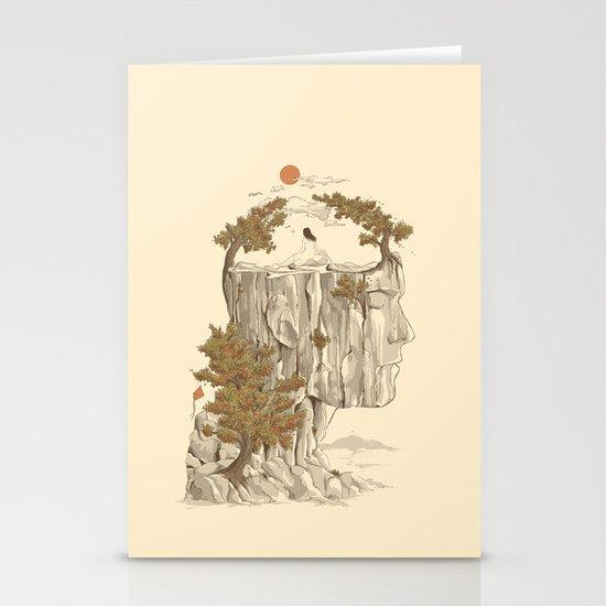 A Beautiful Mind Stationery Card