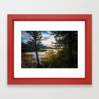 Echo Lake Framed Art Print