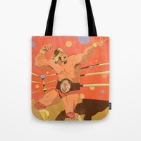 The Hulkster! Tote Bag
