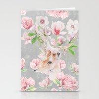 Deer Head & Magnolia's  Stationery Cards