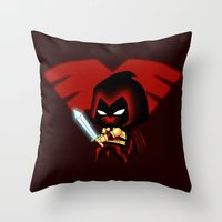 Chibi Azrael Throw Pillow