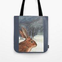 Ten Of Rabbits Tote Bag