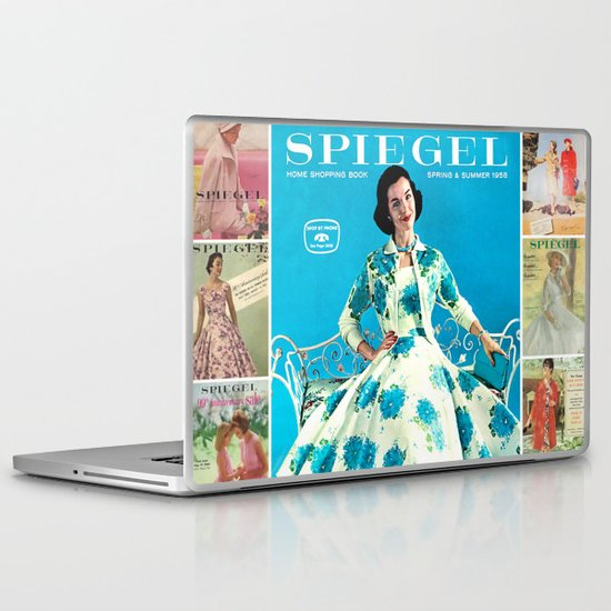 1958 Spring/Summer Spiegel Catalog Laptop & iPad Skin