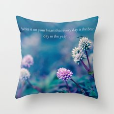 Everything Matters Throw Pillow