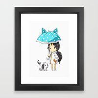 Stroll Framed Art Print