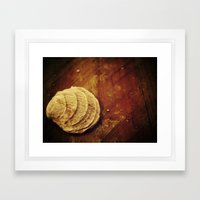 Shell Framed Art Print