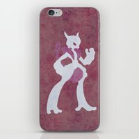 Mega Mewtwo X iPhone & iPod Skin