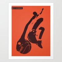 The AirWalker Art Print