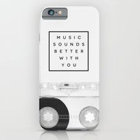 Music Sounds Better With… iPhone 6 Slim Case