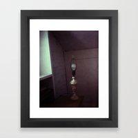 homemade study no. 10 (lamp) Framed Art Print