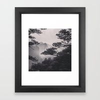 Huangshan Framed Art Print
