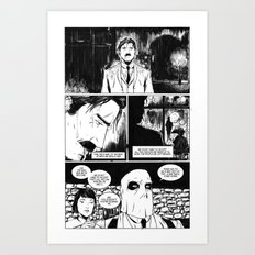CARVER: A Paris Story- Issue 1 Art Print