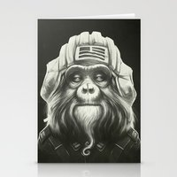 Commander Stationery Cards