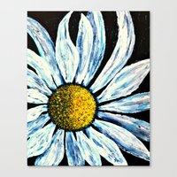 Giant Daisy Canvas Print
