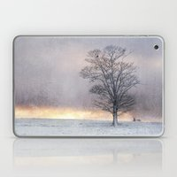 Winter Sunrise, Wramplingham, Norfolk Laptop & iPad Skin