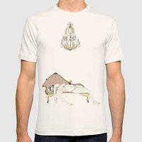 Chaise Longue Mens Fitted Tee Natural SMALL