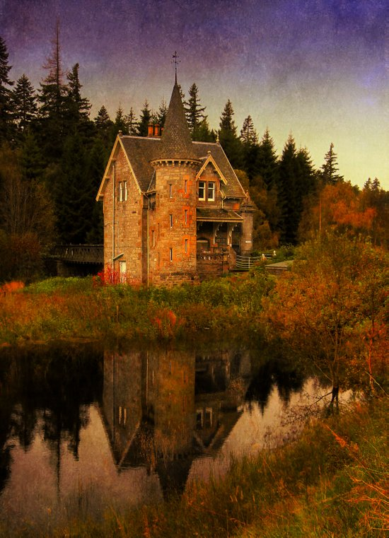 """""""The Old House"""" Art Print"""