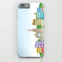 iPhone & iPod Case featuring Park Slope Skyline (Color) by Armistead Booker
