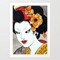 Hana Art Print