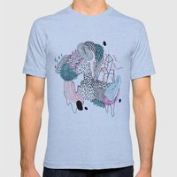 Gooey Mens Fitted Tee Athletic Blue SMALL