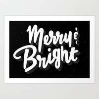 Dark Holiday Art Print
