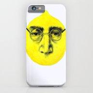 iPhone & iPod Case featuring John Lemon by KatePowellArt