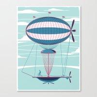 Sky Cycle Canvas Print