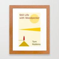 Still Life With Woodpeck… Framed Art Print