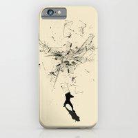 iPhone Cases featuring Ninja Moves by nicebleed