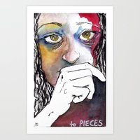 To PIECES Art Print