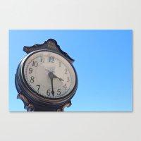 El Reloj Canvas Print