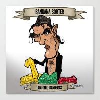 Bandana Sorter (Antonio Banderas) Canvas Print