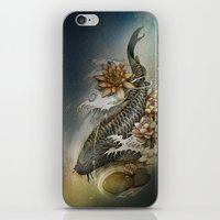 Koi And Lotus iPhone & iPod Skin