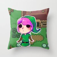 Link to the past Throw Pillow