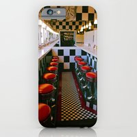 iPhone & iPod Case featuring Diner classic by Vorona Photography